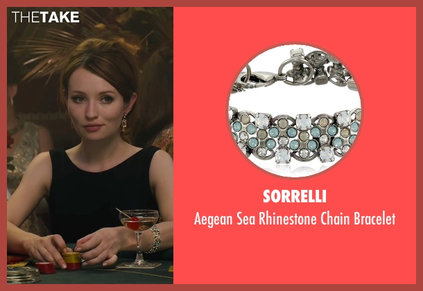 Sorrelli bracelet from Legend seen with Emily Browning (Frances Shea)