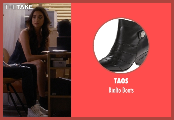Taos black boots from Pretty Little Liars seen with Emily Fields (Shay Mitchell)
