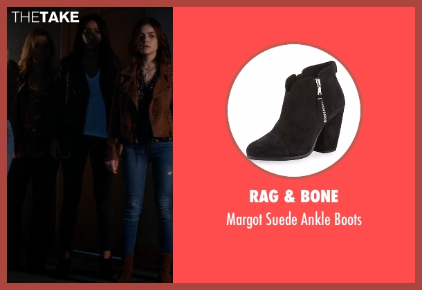 Rag & Bone black boots from Pretty Little Liars seen with Emily Fields (Shay Mitchell)
