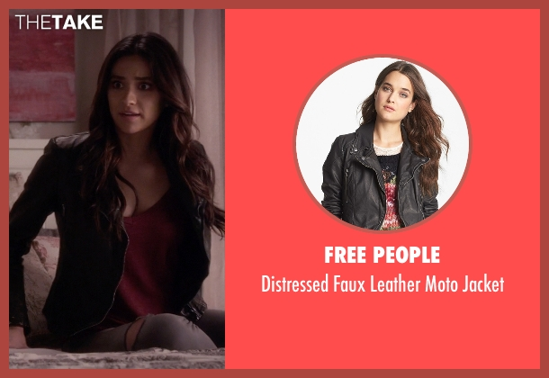 Free People black jacket from Pretty Little Liars seen with Emily Fields (Shay Mitchell)