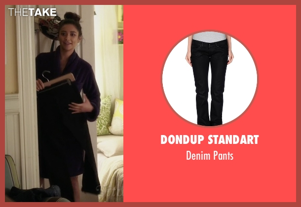 Dondup Standart black pants from Pretty Little Liars seen with Emily Fields (Shay Mitchell)