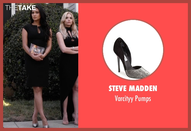 Steve Madden black pumps from Pretty Little Liars seen with Emily Fields (Shay Mitchell)