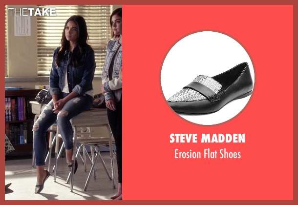 Steve Madden black shoes from Pretty Little Liars seen with Emily Fields (Shay Mitchell)