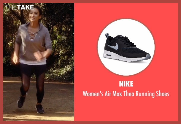 Nike  black shoes from Pretty Little Liars seen with Emily Fields (Shay Mitchell)