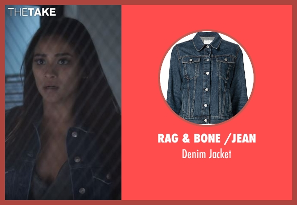 Rag & Bone /Jean blue jacket from Pretty Little Liars seen with Emily Fields (Shay Mitchell)