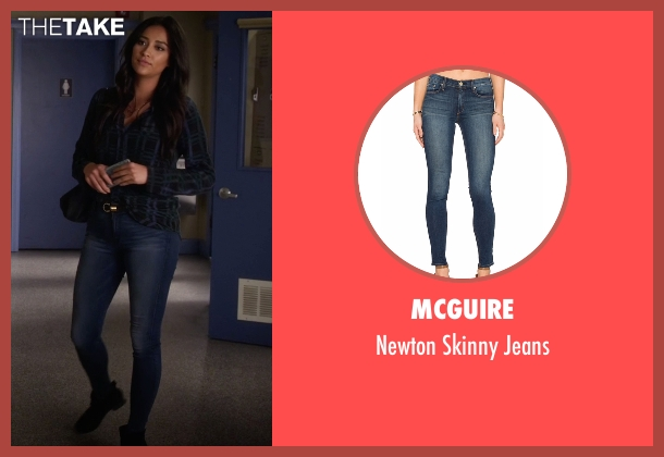 McGuire blue jeans from Pretty Little Liars seen with Emily Fields (Shay Mitchell)