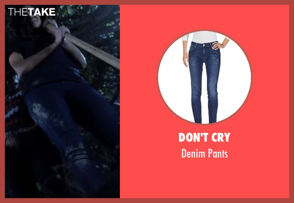 Don't Cry blue pants from Pretty Little Liars seen with Emily Fields (Shay Mitchell)