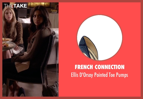 French Connection  blue pumps from Pretty Little Liars seen with Emily Fields (Shay Mitchell)