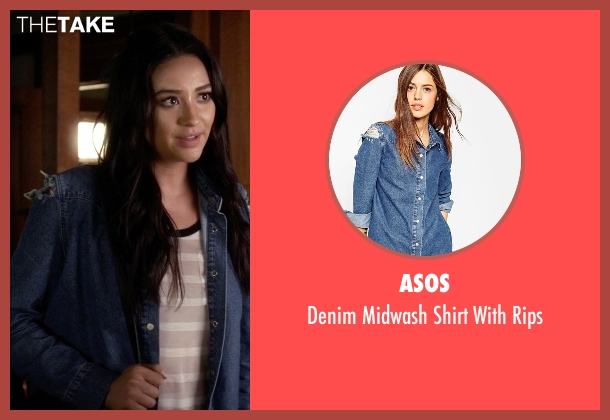 Asos blue rips from Pretty Little Liars seen with Emily Fields (Shay Mitchell)