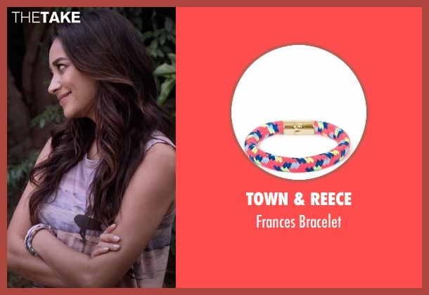Town & Reece bracelet from Pretty Little Liars seen with Emily Fields (Shay Mitchell)
