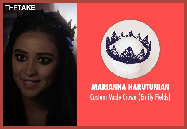 Marianna Harutunian crown from Pretty Little Liars seen with Emily Fields (Shay Mitchell)