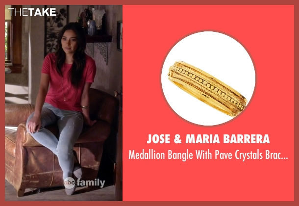 Jose & Maria Barrera gold bracelet from Pretty Little Liars seen with Emily Fields (Shay Mitchell)