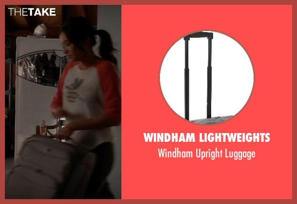 Windham Lightweights gray luggage from Pretty Little Liars seen with Emily Fields (Shay Mitchell)