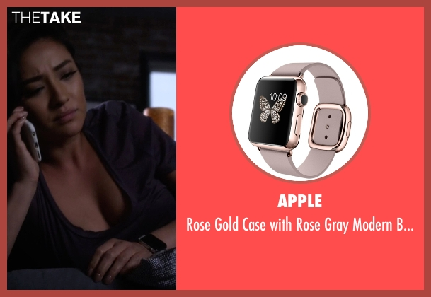 Apple gray watch from Pretty Little Liars seen with Emily Fields (Shay Mitchell)