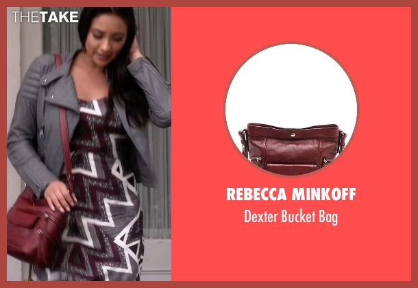 Rebecca Minkoff red bag from Pretty Little Liars seen with Emily Fields (Shay Mitchell)