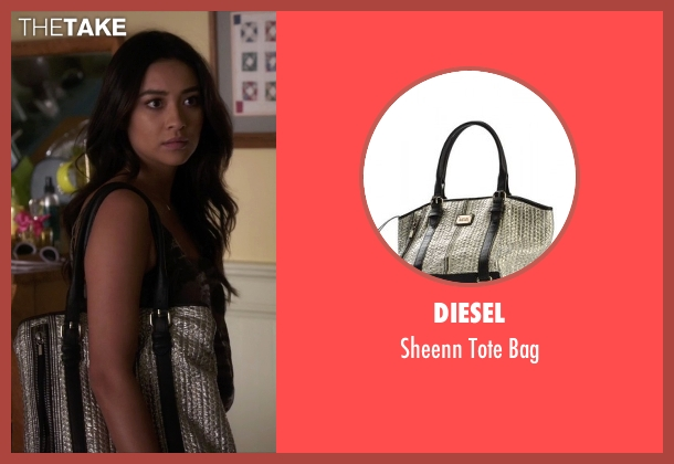 Diesel silver bag from Pretty Little Liars seen with Emily Fields (Shay Mitchell)