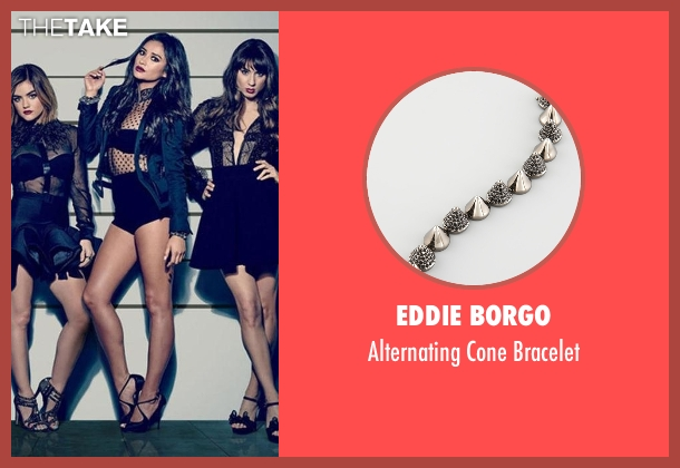 Eddie Borgo silver bracelet from Pretty Little Liars seen with Emily Fields (Shay Mitchell)