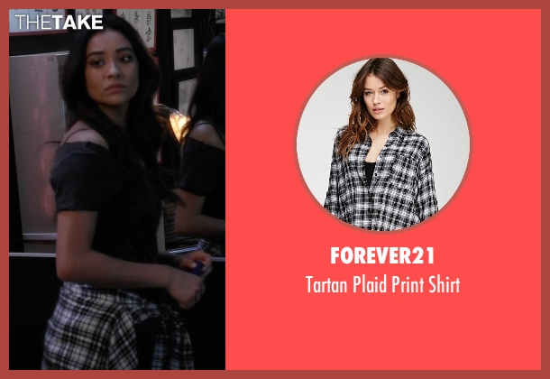 Forever21 white shirt from Pretty Little Liars seen with Emily Fields (Shay Mitchell)