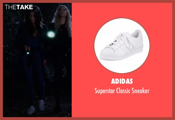 Adidas  white sneaker from Pretty Little Liars seen with Emily Fields (Shay Mitchell)