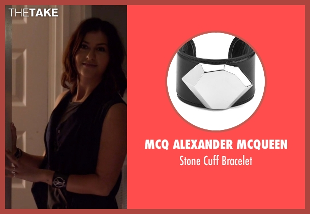 MCQ Alexander Mcqueen black bracelet from Nashville seen with Emily Hobbs (Kourtney Hansen)