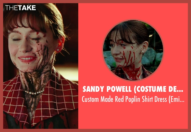 Sandy Powell (Costume Designer) red dress from Shutter Island seen with Emily Mortimer (Rachel 1)