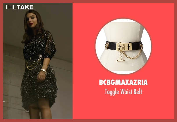 BCBGMAXAZRIA black belt from We Are Your Friends seen with Emily Ratajkowski (Sophie)