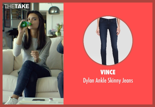 Vince blue jeans from We Are Your Friends seen with Emily Ratajkowski (Sophie)