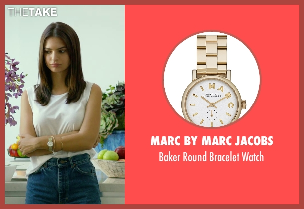 Marc By Marc Jacobs gold watch from We Are Your Friends seen with Emily Ratajkowski (Sophie)