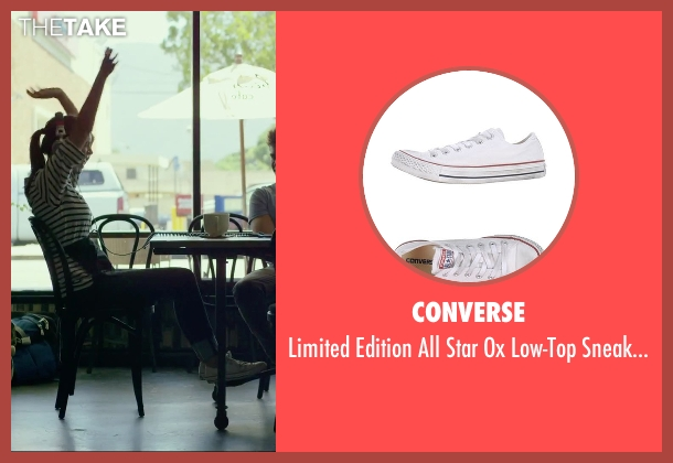 Converse white sneakers from We Are Your Friends seen with Emily Ratajkowski (Sophie)