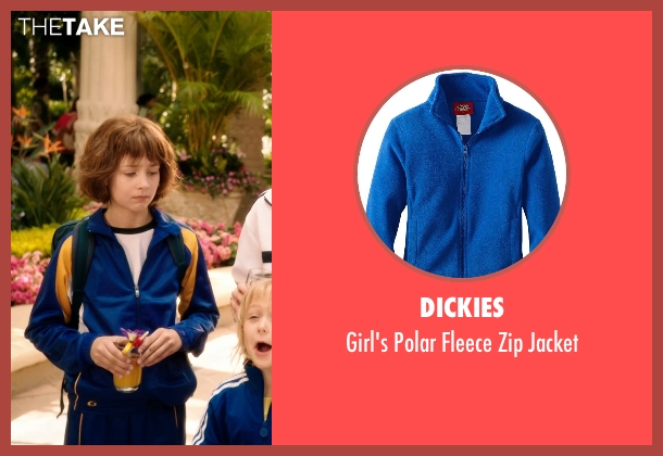 Dickies blue jacket from Blended seen with Emma Fuhrmann (Espn Friedman)