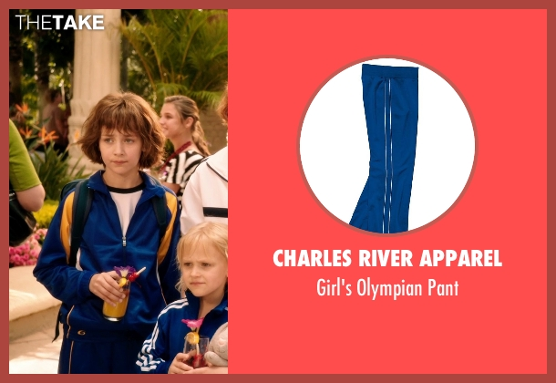 Charles River Apparel blue pant from Blended seen with Emma Fuhrmann (Espn Friedman)