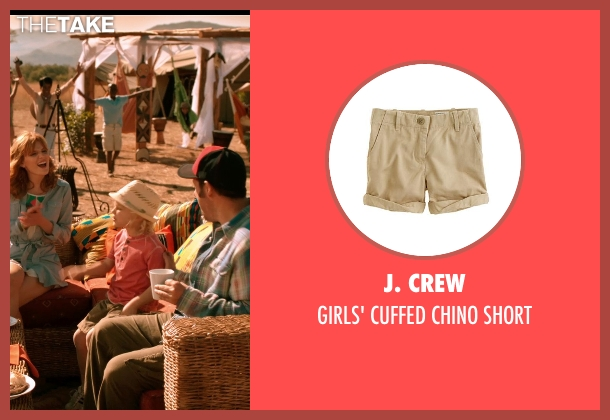 J. Crew short from Blended seen with Emma Fuhrmann (Espn Friedman)