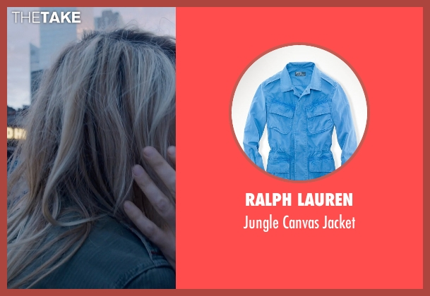 Ralph Lauren blue jacket from Birdman seen with Emma Stone (Sam)