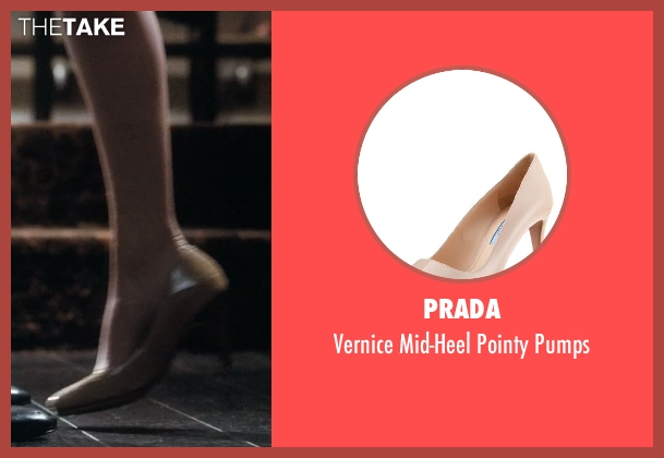Prada beige pumps from Crazy, Stupid, Love. seen with Emma Stone (Hannah)