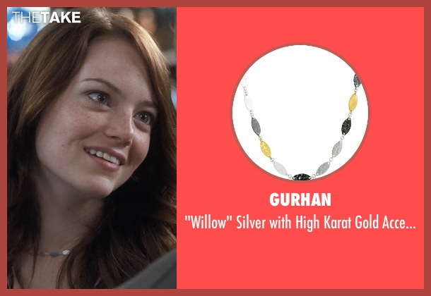 Gurhan necklace from Crazy, Stupid, Love. seen with Emma Stone (Hannah)