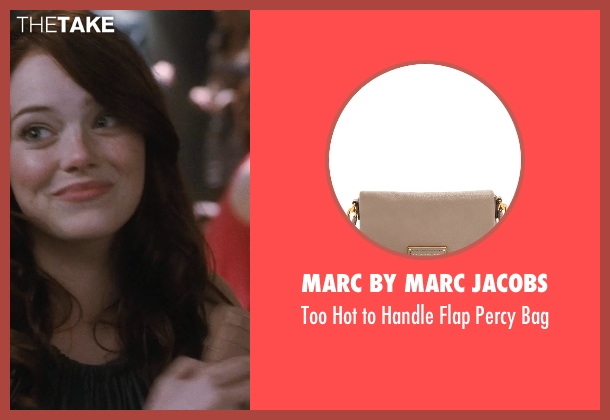 Marc by Marc Jacobs pink bag from Crazy, Stupid, Love. seen with Emma Stone (Hannah)