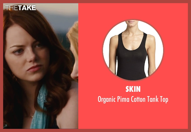 Skin black top from Easy A seen with Emma Stone (Olive)