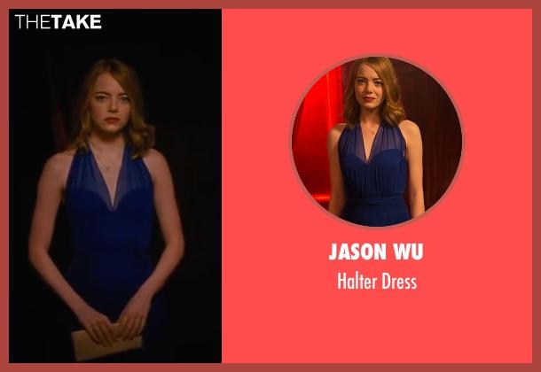 Jason Wu blue dress from La La Land seen with Emma Stone (Mia)