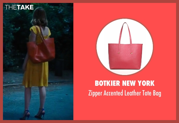 Tory Burch red bag from La La Land seen with Emma Stone (Mia)