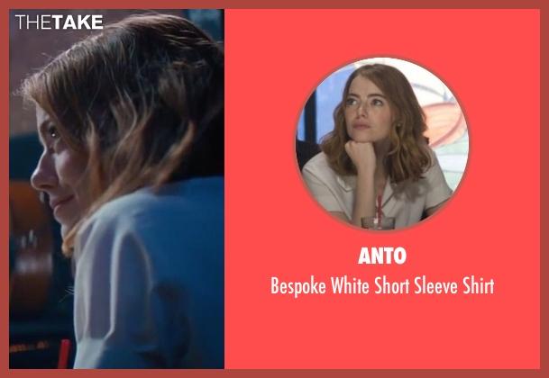 Anto white shirt from La La Land seen with Emma Stone (Mia)