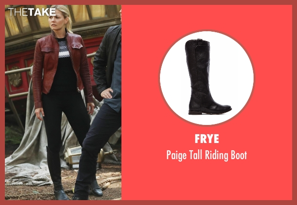 Frye black boot from Once Upon a Time seen with Emma Swan (Jennifer Morrison)