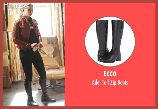 Ecco  black boots from Once Upon a Time seen with Emma Swan (Jennifer Morrison)