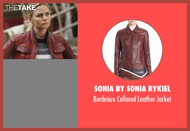 Sonia by Sonia Rykiel red jacket from Once Upon a Time seen with Emma Swan (Jennifer Morrison)