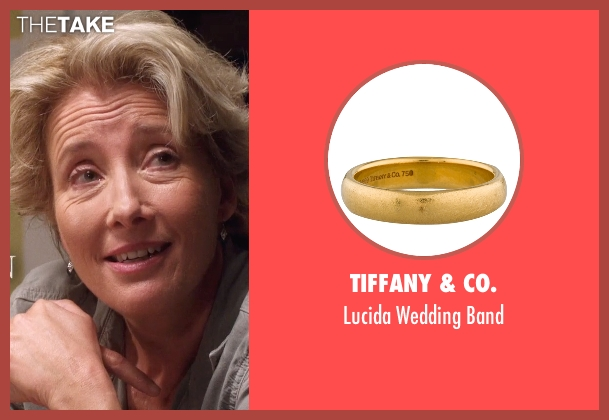 Tiffany & Co. band from A Walk in the Woods seen with Emma Thompson (Unknown Character)