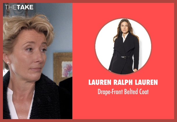Lauren Ralph Lauren black coat from A Walk in the Woods seen with Emma Thompson (Unknown Character)
