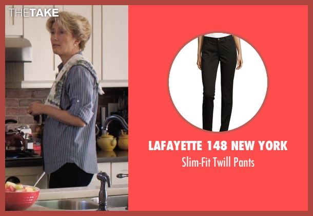 Lafayette 148 New York black pants from A Walk in the Woods seen with Emma Thompson (Unknown Character)