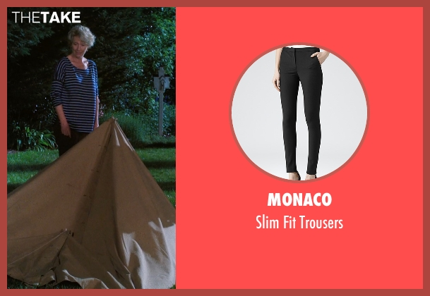 Monaco black trousers from A Walk in the Woods seen with Emma Thompson (Unknown Character)