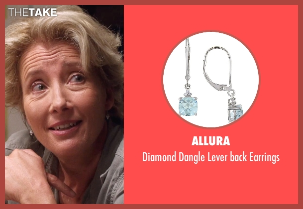 Allura silver earrings from A Walk in the Woods seen with Emma Thompson (Unknown Character)