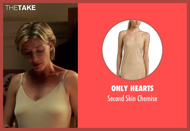 Only Hearts beige chemise from Love Actually seen with Emma Thompson (Karen)