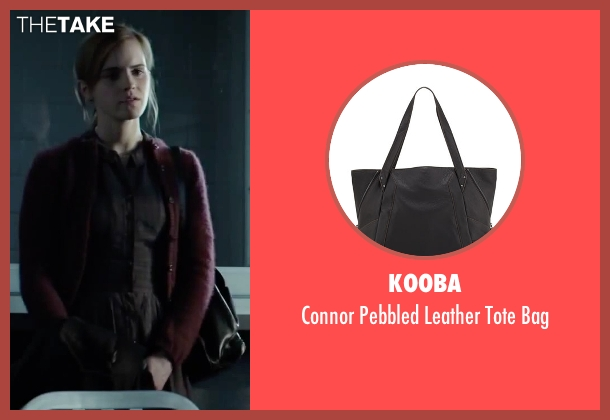 Kooba black bag from Regression seen with Emma Watson (Angela Gray)